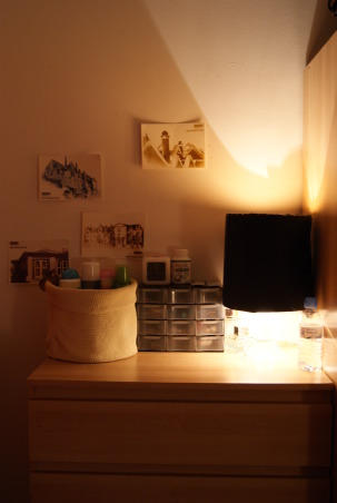 Update - 2nd year Dormroom Apartment, A portuguese student can't have the academic spirit of USA, so we done what's is possible.. This is my room in my second year in Lisbon, Makeup, acessories and some things important , Dorm Rooms Design
