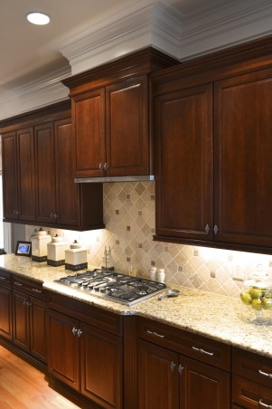 Charlotte Kitchen Redo, We recently remodeled our kitchen and would love your opinion.  The last update will be new bar stools finished in cream ostrich. , Kitchens Design