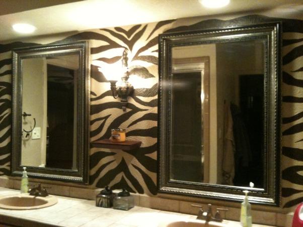 Zebra Bathroom Wall Ideas. Zebra Bathroom Ideas   ClaSsiA neT for