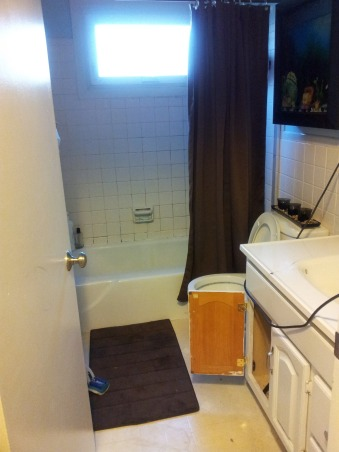 5X8 Bathroom Makeover, Complete Bathroom makeover., Bathrooms Design