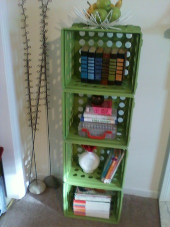 storage and organization,  storage crates, frugal shelf and storage, Other Spaces Design
