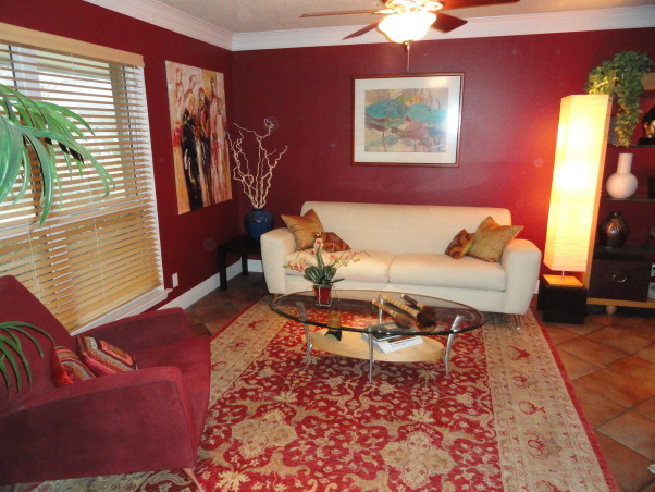 Information about rate my space questions for for Living room ideas with burgundy sofa