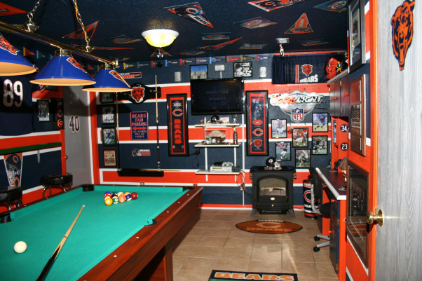 Chicago Bears Man Cave Decor : Information about rate my space questions for hgtv