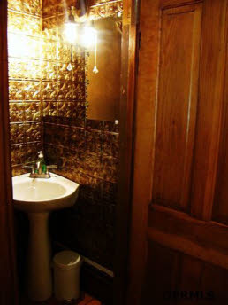 Bathrooms in our 1908 Folk Victorian, Although some are period restorations, we have been forced to defer to modern tile., Bathrooms Design