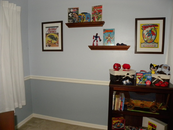 Vintage Superhero Baby, We had never seen anyone else do a super hero nursery and we decided our boy deserved the first!!! Much hard work and it came to be :), Nurseries Design