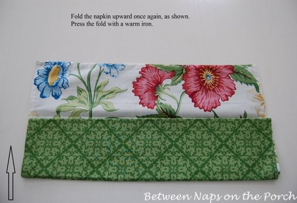 Bunny Napkin Fold, Tutorial: Bunny Napkin Fold for Your Easter Table, Step 3  , Holidays Design