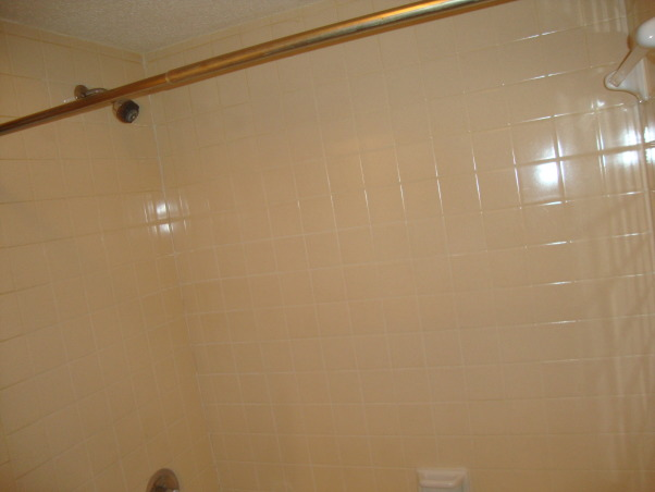 Hall bath update, The original hall bath in our home which was rented out had not been touched since the house was built in 1982., The bath tile was in perfect condition so I used it for the color selections and cleaned it up., Bathrooms Design
