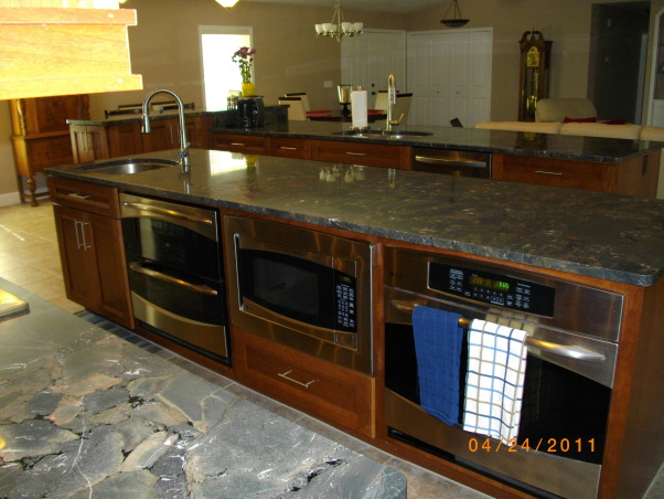 Information about rate my space questions for for Open galley kitchen with island