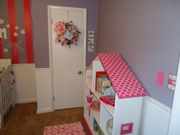 Jocelyn's Room, This is my daughter Jocelyn Annalise's room.  I started with a theme of butterflies and flowers and it grew from there. , Nurseries Design