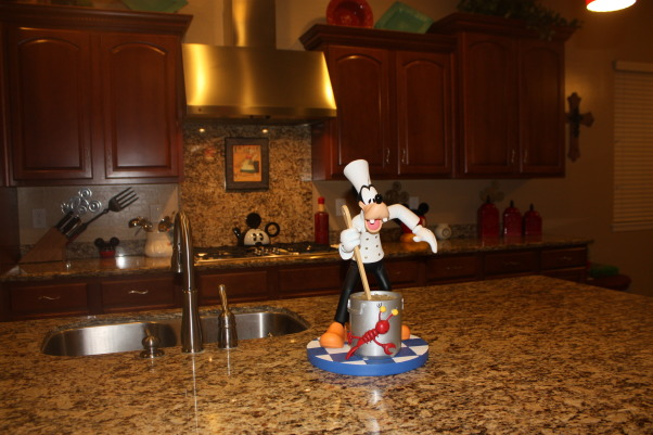 Disney kitchen, Disney kitchen my favorite space in my home., Goofy started it all. He was a gify for my husband from my family. He loves to cook., Kitchens Design