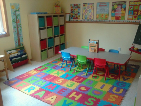 Daycare/Preschool Room, Sorry. I know this isn't a bedroom but I didn't see another option for kids rooms/playrooms. This is my preschool room in our new home. The walls were brown before this. My children love learning in here!, Girls' Rooms Design