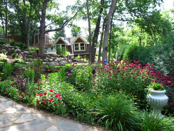 Summer's Reward, A one acre lot full of annual and perennial beds in minnesota, Gardens Design