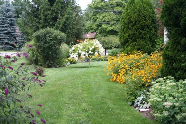 August Snippets , Finally, some water has brought the gardens back to life!, Gardens Design
