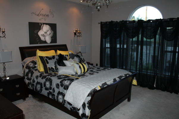 Information about rate my space questions for for Bedroom designs black and grey