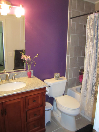 New Girl's Bathroom!, Here is a look at the before and after transformation of my daughter's bathroom. We gutted the entire thing and started from scratch. The original bathroom was straight from 1981., After the major renovation, Bathrooms Design