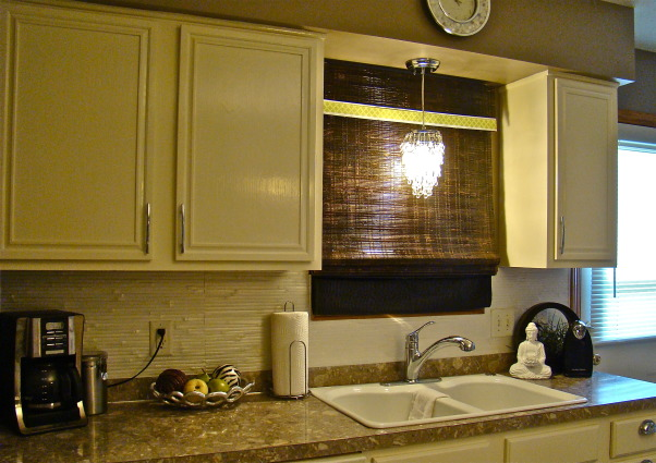 *~*~*Small Changes*~*~*Make sure you look at the BEFORE!!!! The last pic!!, Decided to just add a few different touches! (For now, til I get bored again!) Home with 2 new kitties today~~~~~!, Some of the green ribbon for the bamboo blind too!   , Kitchens   Design