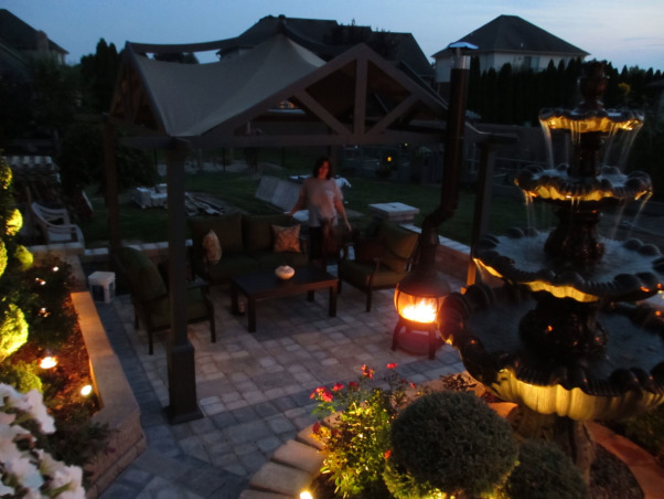 "Paradise Patio, Outdoor living spaces, Spent alot of time designing layout to get it ""just right"", Patios & Decks Design"