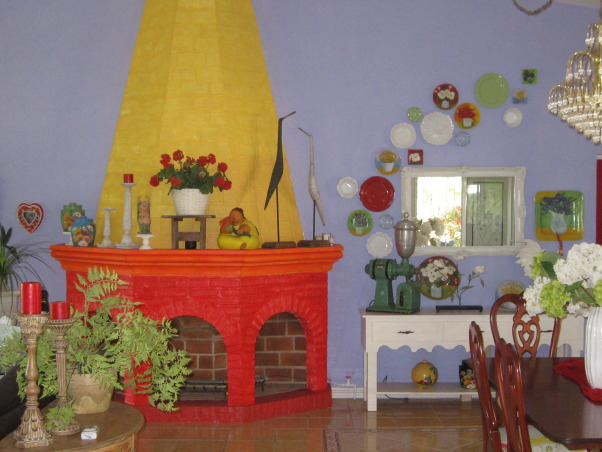 My Mexican Cottage, We recently moved to Mexico and as you can see, I still like a lot of color and clutter!, Living Rooms Design