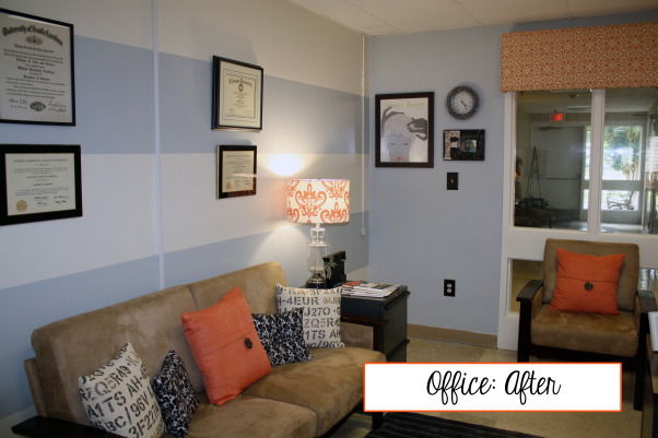 Office Space- Fresh, Fun and AMAZING!, This office was decorated over six years ago.  The space has been functional, but needed some updating.  WIth a smart, savvy budget- repurposing, refreshing and cleaning things out...a NEW and FRESH office was born.  Enjoy!, Home Offices Design