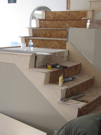 Stairs, Removal of stair walls, Demolition  , Other Spaces Design
