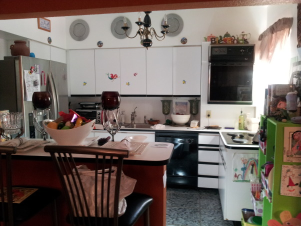 unfuction kitchen , very small  for a family  of 4.  I desperately need a new kitchen I don't  know what else to do anymore I have a small  budget. And I need a kitchen with a family room together. If anyone hear me out there please help me., Kitchens Design