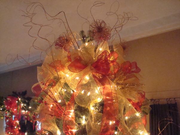 Christmas 2012, Christmas decorations for 2012, top of tree , Holidays Design