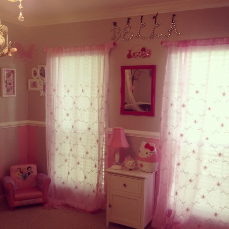 Bella's Pink/Grey Nest, Girls' Rooms Design