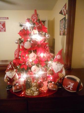 Son Alabama Crimson Tide (football team)tree, 11 year son favorite team tree(Alabama Crimson Tide), Holidays Design