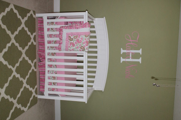 Heidi's Flamingo Haven, We moved to Florida last year so I decided to create a subtle flamingo theme for my daughter's nursery., Nurseries Design