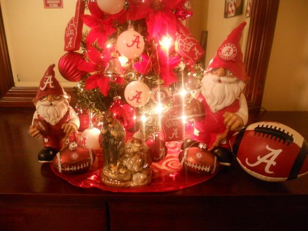 Son Alabama Crimson Tide (football team)tree, Holidays Design