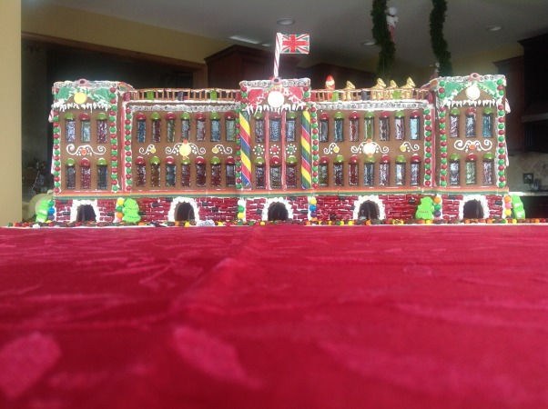Yehling family gingerbread display 2012, Buckingham Palace., This years gingerbread display was inspired by the magnificent, Buckingham Palace in the United Kingdom.  The display took 5 days to complete. Merry Christmas!, Holidays Design