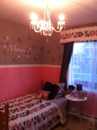 Chic little girl bedroom, Chic,glamourous little girl bedroom, Young girl chic bedroom, Girls' Rooms Design