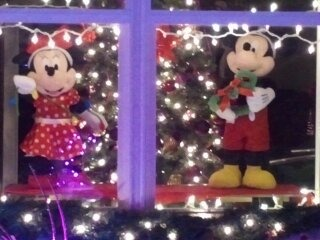 Christmas at my house, and to top it off I added Mickey&Mindy  to share some Holiday cheers., Holidays Design