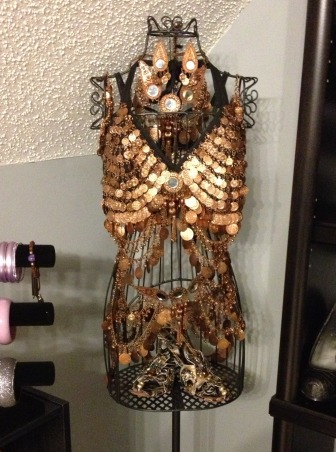 Stiletto House, Bonus Room turned Accessory Closet, Belly Dance Costume        , Closets Design