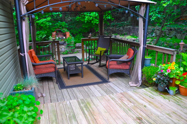 Backyard Deck, This is the after......, Patios & Decks Design