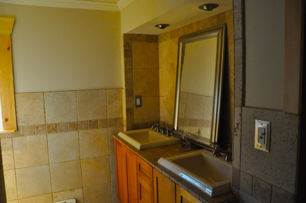 Bathroom Remodel, Double sinks with brushed nickel faucets..., Bathrooms Design