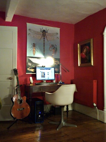 My Comic Strip Room, A colorful zany eclectic mismatch of colors, textures, pattern and materials, Living Rooms Design