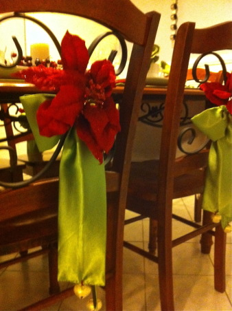 Christmas decoration made by me ..., Elegant and unique Christmas table setting ., Dining Rooms     Design