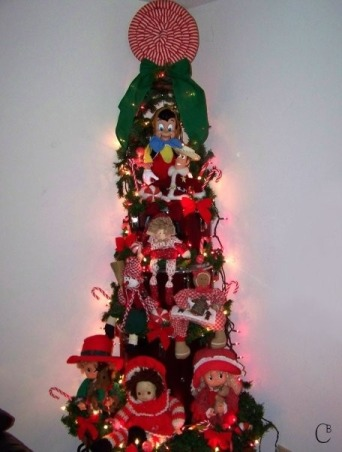 2009 Christmas Decorations, Drum tree, Holidays Design