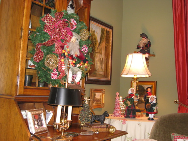 Christmas 2012, Nothing is safe from a little Christmas bling in our house!, Holidays Design