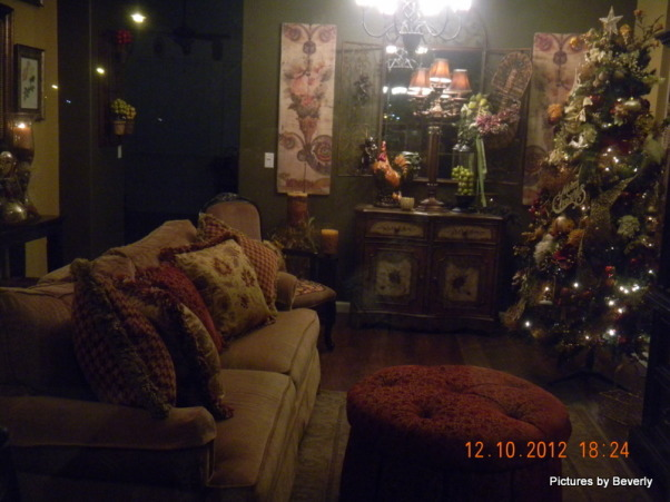Christmas Holiday 2012, Living Rooms Design