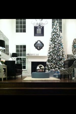 Silver/blue tree!, Holidays Design