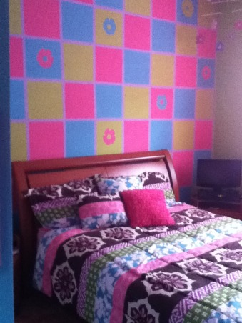 update daughter room, colorful room, project complete finally , Girls' Rooms Design