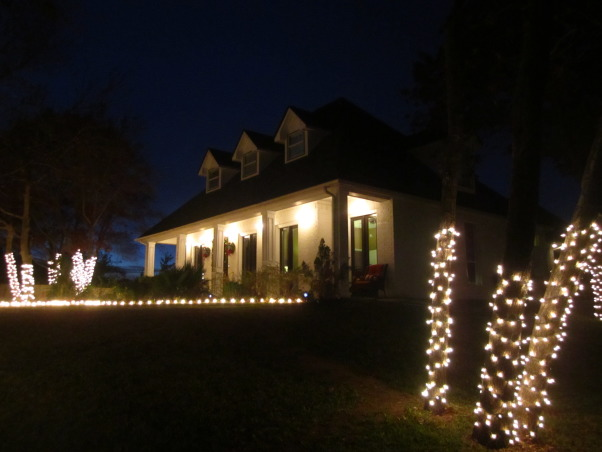 Christmas 2012, Same house after a remodel in 2011, lots of changes!, Home Exterior Design
