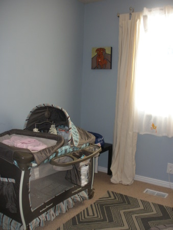 My $300 nursery, I had a super limited budget and only spent about $300. It's not quite finished but baby will be here any time now. Also, I will purchase a crib a later when baby is a little bigger., Still need some artwork.   , Nurseries Design