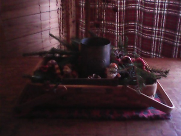 Country Christmas 2012, Here are a few  photos of our Christmas decorations. , Living Rooms   Design