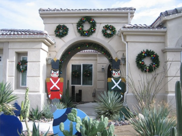 Christmas Decorations 2012, Different Rooms in my home, Look from the Front Entrance   , Holidays Design