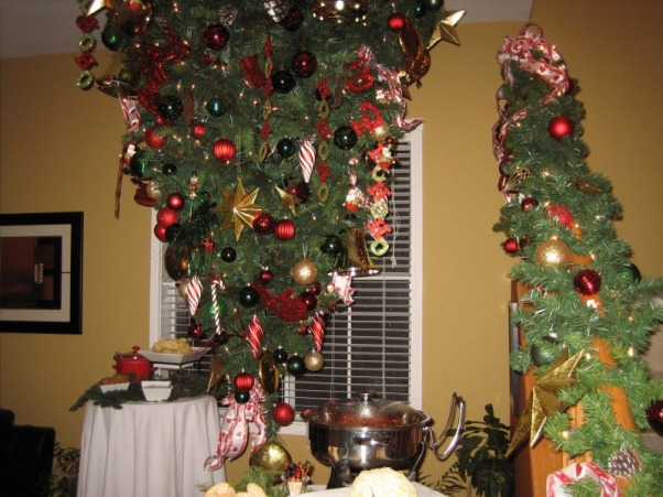 Christmas Decorations 2012, Different Rooms in my home, Upside Down - Michael's OC House , Holidays Design