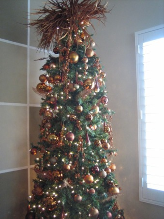 Christmas Decorations 2012, Different Rooms in my home, Master Bedroom Tree  , Holidays Design
