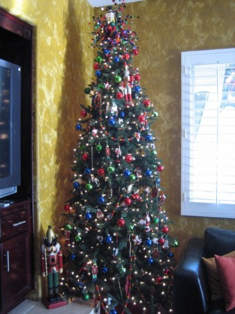 Christmas Decorations 2012, Different Rooms in my home, Nut Cracker Tree  , Holidays Design